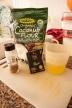 Ingredientes: a farinha de coco foi comprada no site Iherb, mas pode fazer em casa a partir de flocos de coco(precisa de um processador acima da média para obter a farinha). As lojas idnianas também costuma ter desta farinha a preços cómodos.